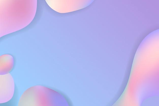 Flüssiger pastellhintergrund