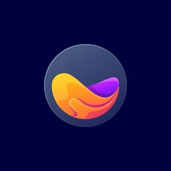 Flüssiges logo