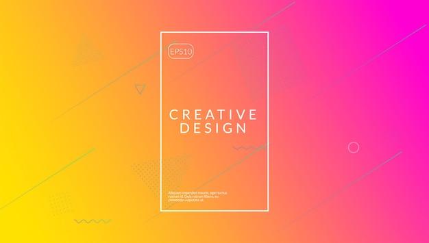 Flüssiges poster. tech-landingpage. violetter kunststoff-layout. bunte komposition. flaches modernes design. regenbogen-formen. grafisches papier. flüssige form. lila flüssiges poster