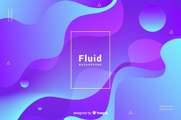 Flüssigkeit 3d formt hintergrund