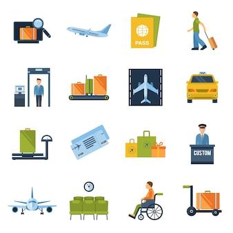 Flughafen icons wohnung