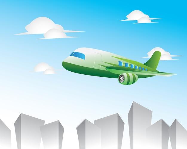 Flugzeug-abbildung