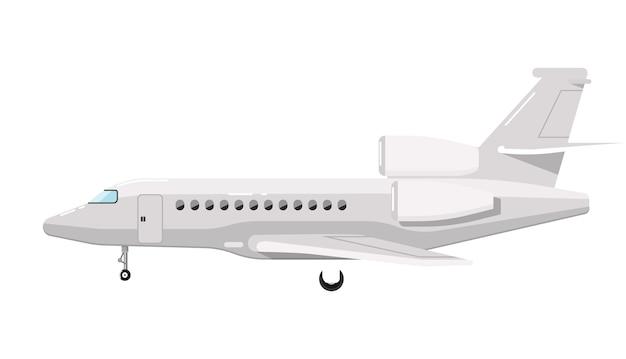 Flugzeug, isoliert auf weiss