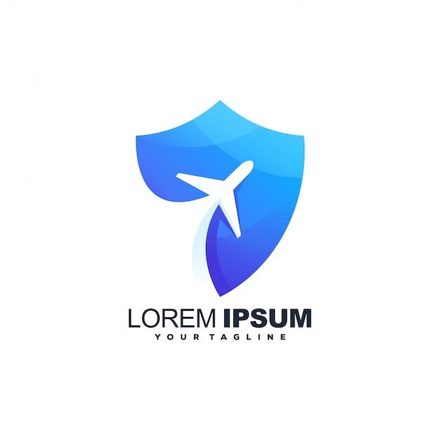 Flugzeug-logo