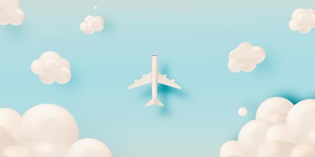 Flugzeug-luftbild