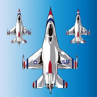 Flugzeug usaf amerikanische kraft