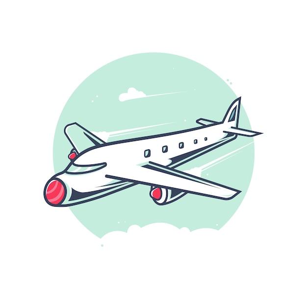 Flugzeugillustration