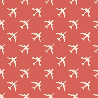 Flugzeugmusterillustration. kreatives und militärisches bild
