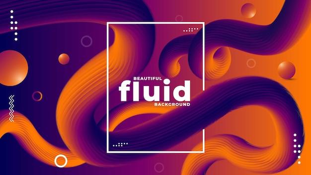 Fluid background premium