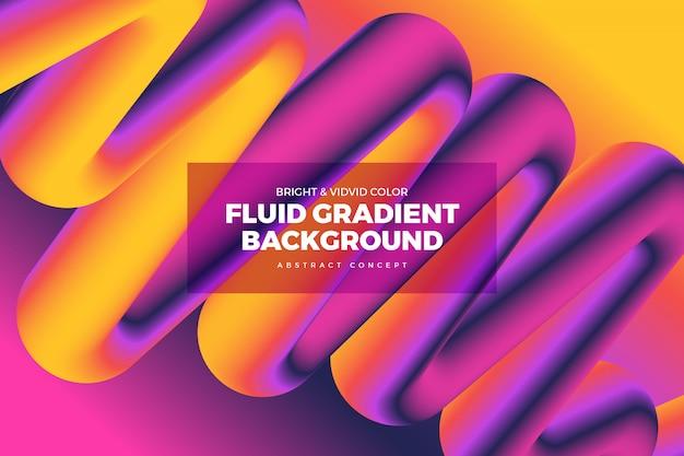 Fluid vivid gradient hintergrund 11