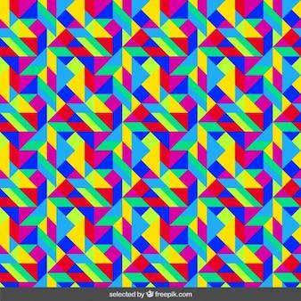 Fluor kaleidoskop hintergrund