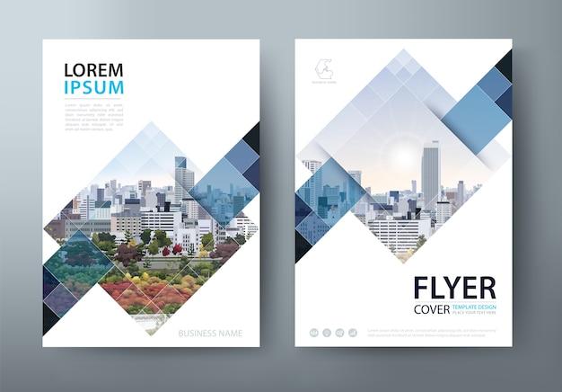 Flyer, buchumschlagvorlagen, layout