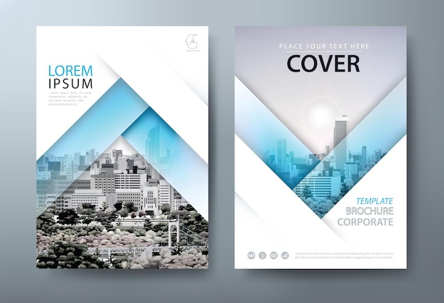 Flyer-design-buchcover-vorlagen-layout im a4-format