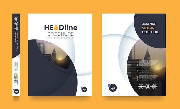 Flyer design vorlage