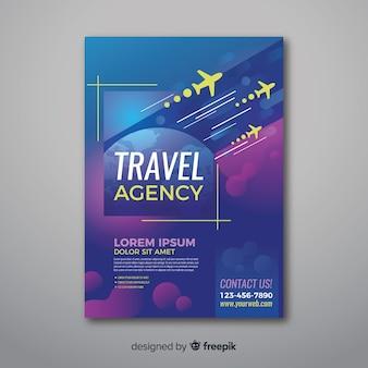 Flyer für reisebüros