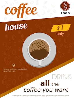 Flyer kaffee