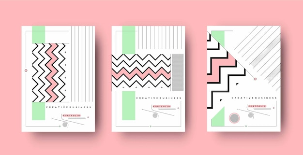 Flyer- und poster-cover-design in a4-format-vorlagenillustration