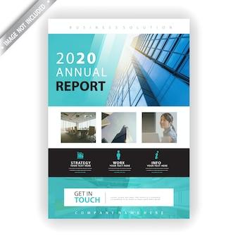 Flyer zum geschäftsbericht 2020