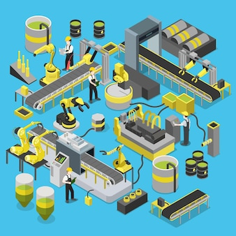 Förderwerkstatt für chemische produktion