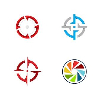 Fokus-symbol-vektor-illustration-design-vorlage