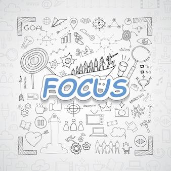 Fokuselemente sammlung