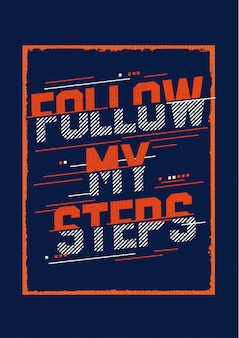 Folge meinen schritten