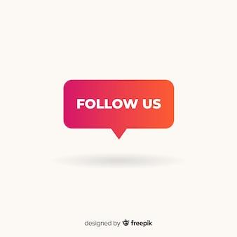 Folge uns hintergrund