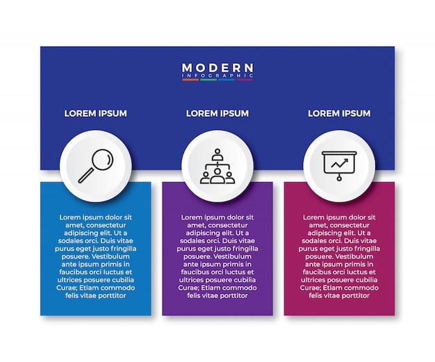 Folienvorlage für infografik-tabellenhierarchie