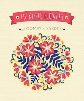 Folkloreblumen