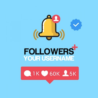 Follower instagram logo