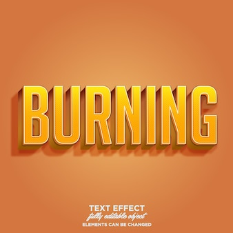 Font-effekt mit detail textur