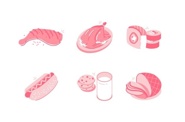 Food & getränke abbildung