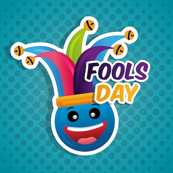 Fools day card feier
