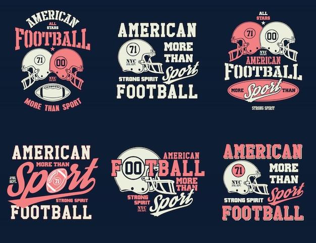 Football helm stilisierte darstellung