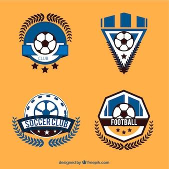Football logos sammlung