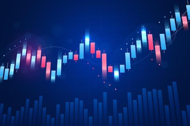 Forex trading hintergrundkonzept