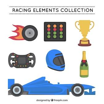 Formel 1 elemente sammlung