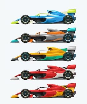 Formel 1 set seitenansicht