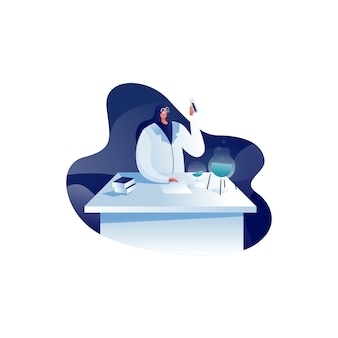 Forschungs-illustration