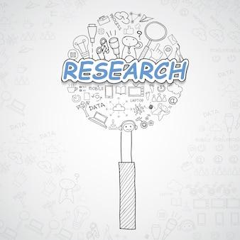 Forschungselemente sammlung