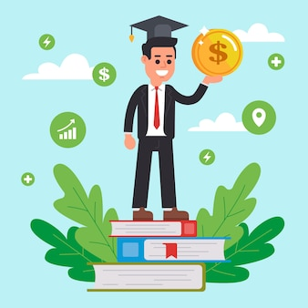 Fortbildungsgeld für die ausbildung an der universität.