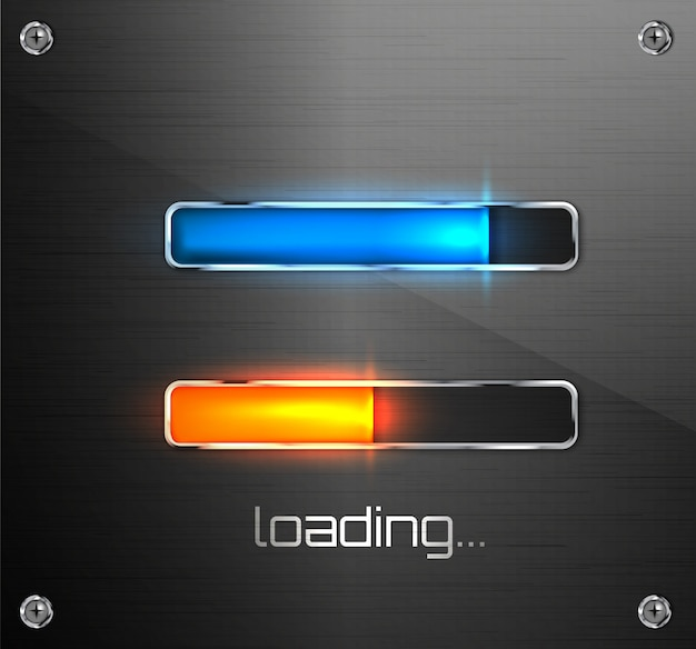 Fortschrittsladeleiste für mobile apps oder web-preloader.
