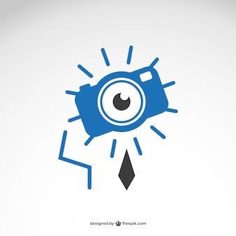 Fotografie geschäft kostenlos vektor-logo