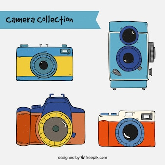 Fotokamera-sammlung