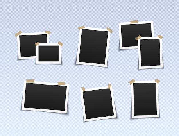 Fotorahmen mit klebeband