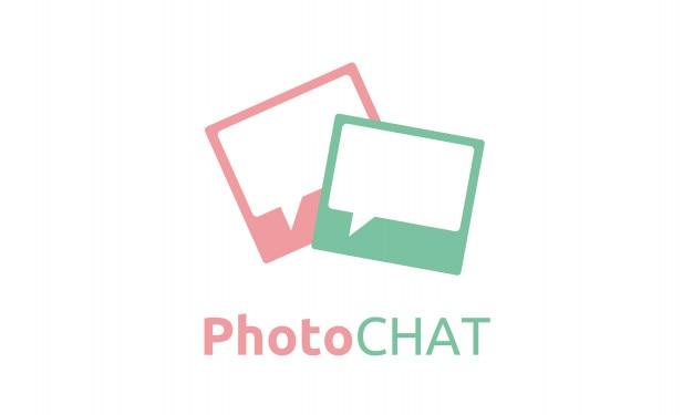Fotorahmen mit rechteckblase-chatz illustration