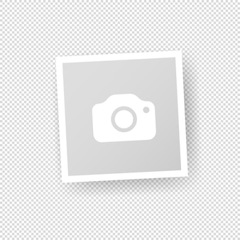 Fotorahmen-symbol. leeres foto leer. vektor auf isoliertem transparentem hintergrund. eps 10.