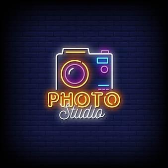 Fotostudio-neonzeichen-stiltext