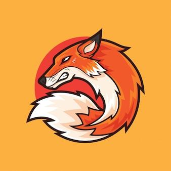 Fox-logo-maskottchen