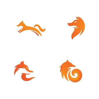 Fox-vektor-illustration-silhouette-icon-design